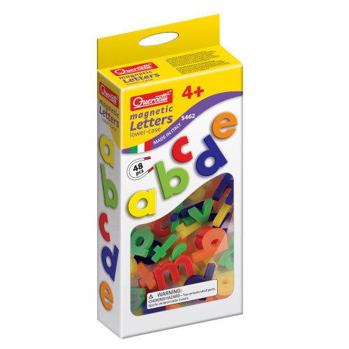 Quercetti Magnetbokstäver 48st Små