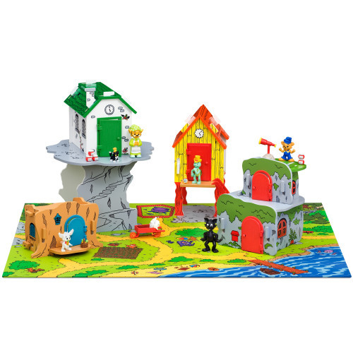 Bamse Bamseby med lekplatta