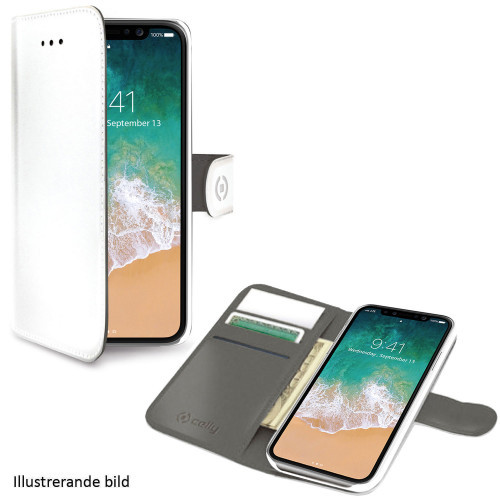 Celly Wallet Case iPhone Xs Max Vit