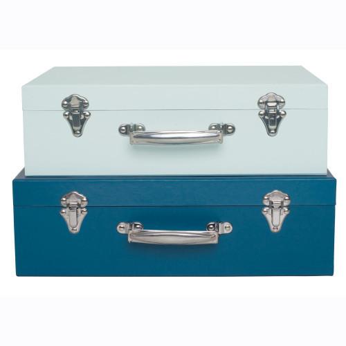 Jabadabado Koffert blå