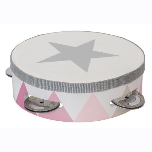 Jabadabado Tamburin trumma rosa