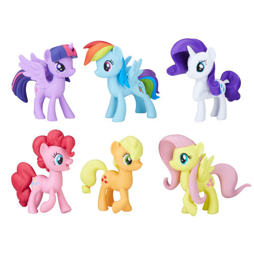 My Little Pony Meet The Mane 6 Ponies Collec.