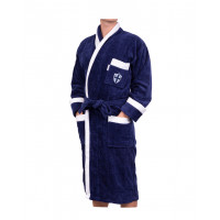Lord Nelson Velour Robe Marin S/M
