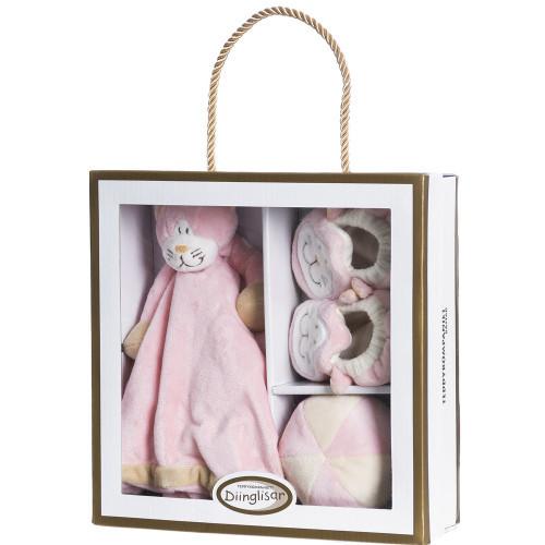 Teddykompaniet Diinglisar, giftbox, katt