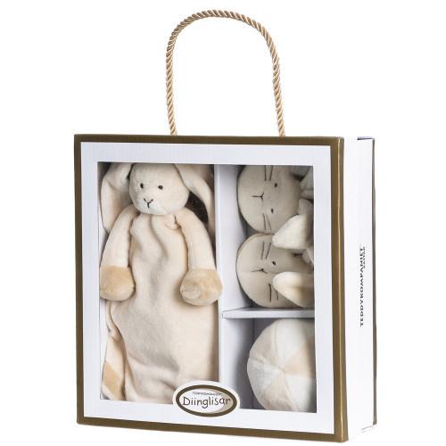 Teddykompaniet Diinglisar, giftbox, kanin
