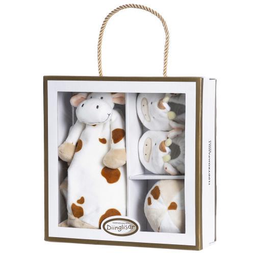 Teddykompaniet Diinglisar, giftbox, kossa