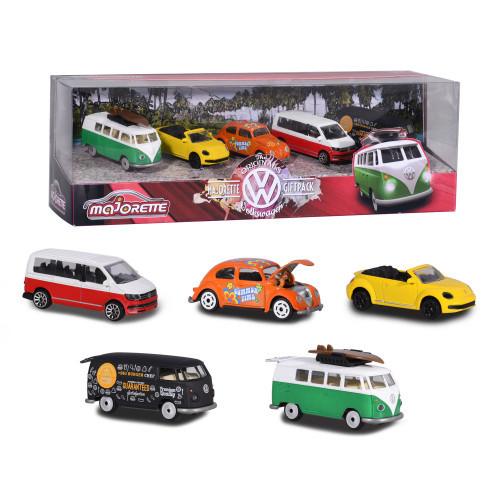 Majorette Majorette Volkswagen 5 Pieces