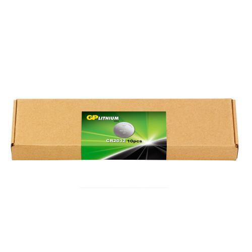 GP E-BOX Lithium CR2032 10-pack
