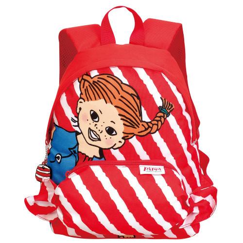 Pippi Långstrump Yummi back pack red