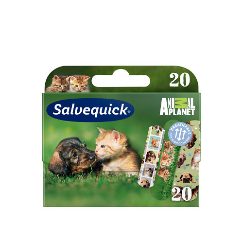 Salvequick Plåster Animal Planet