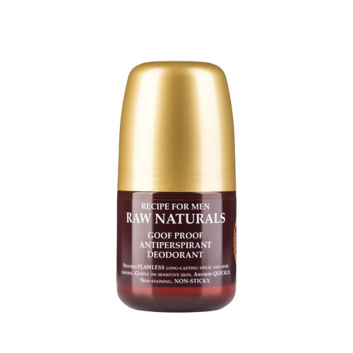 Recipe For Men Raw Naturals Goof Proof Antiperspirant Deodorant