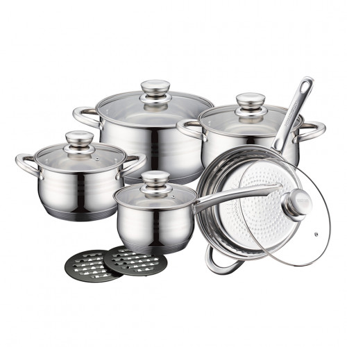 Royalty Line Stainless Steel Cookware Set