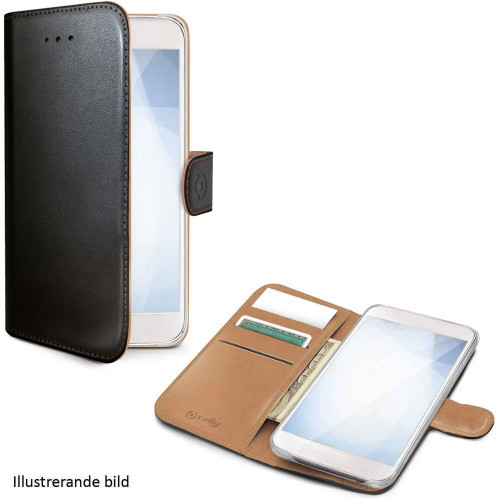 Celly Wallet Case Galaxy J6+ Sv/be