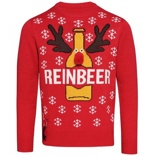 Christmas shop Adults Christmas Jumper Red