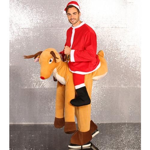 Christmas Shop Ride on costume Santa/Reindeer