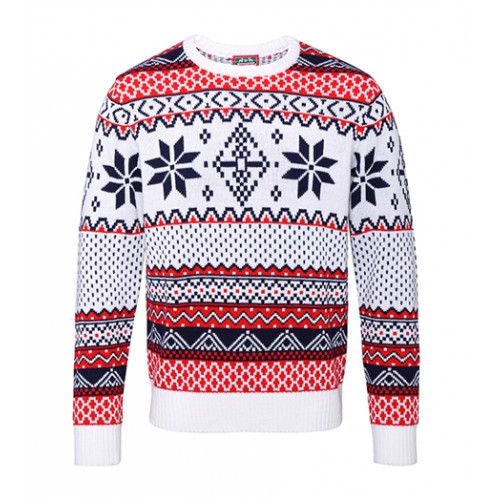 Christmas shop Adults Nordic Jumper White