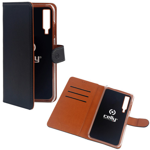Celly Wallet Case Galaxy A7 2018 Sv