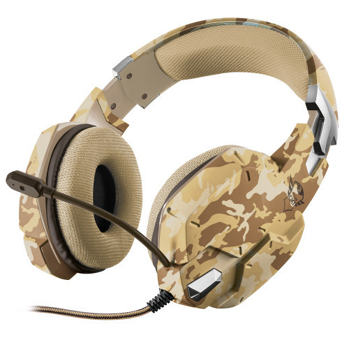 Trust GXT 322D Gaming Headset Desert