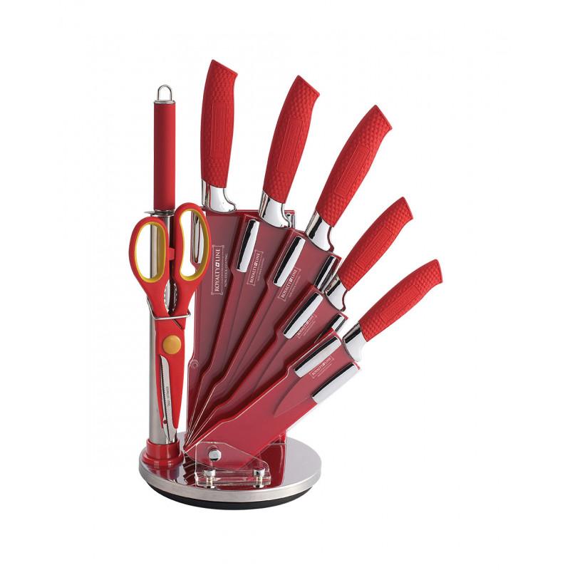 Royalty Line Non-Stick Coating Knife Set