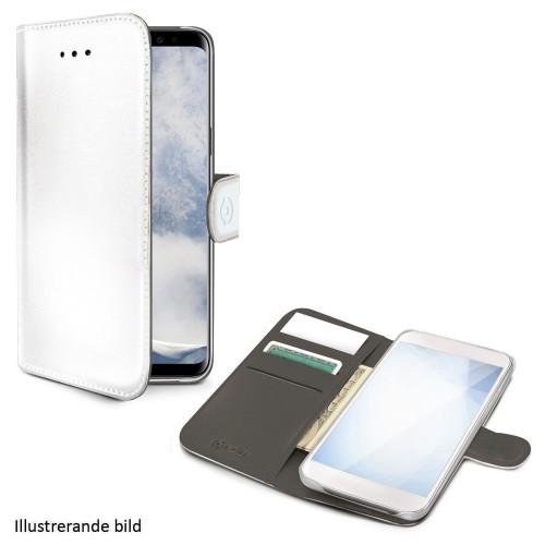 Celly Wallet Case Galaxy S10 Vit