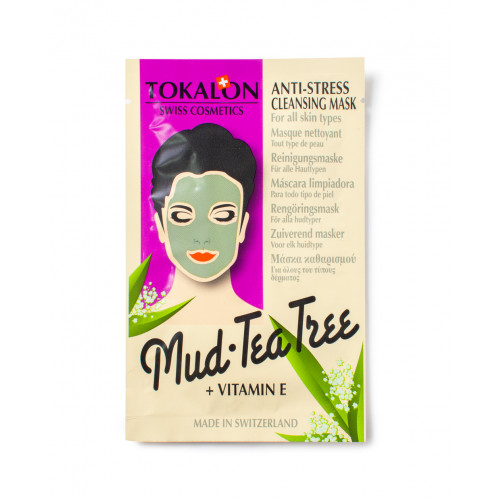 Tokalon Mud & Tea Tree Ansiktsmask