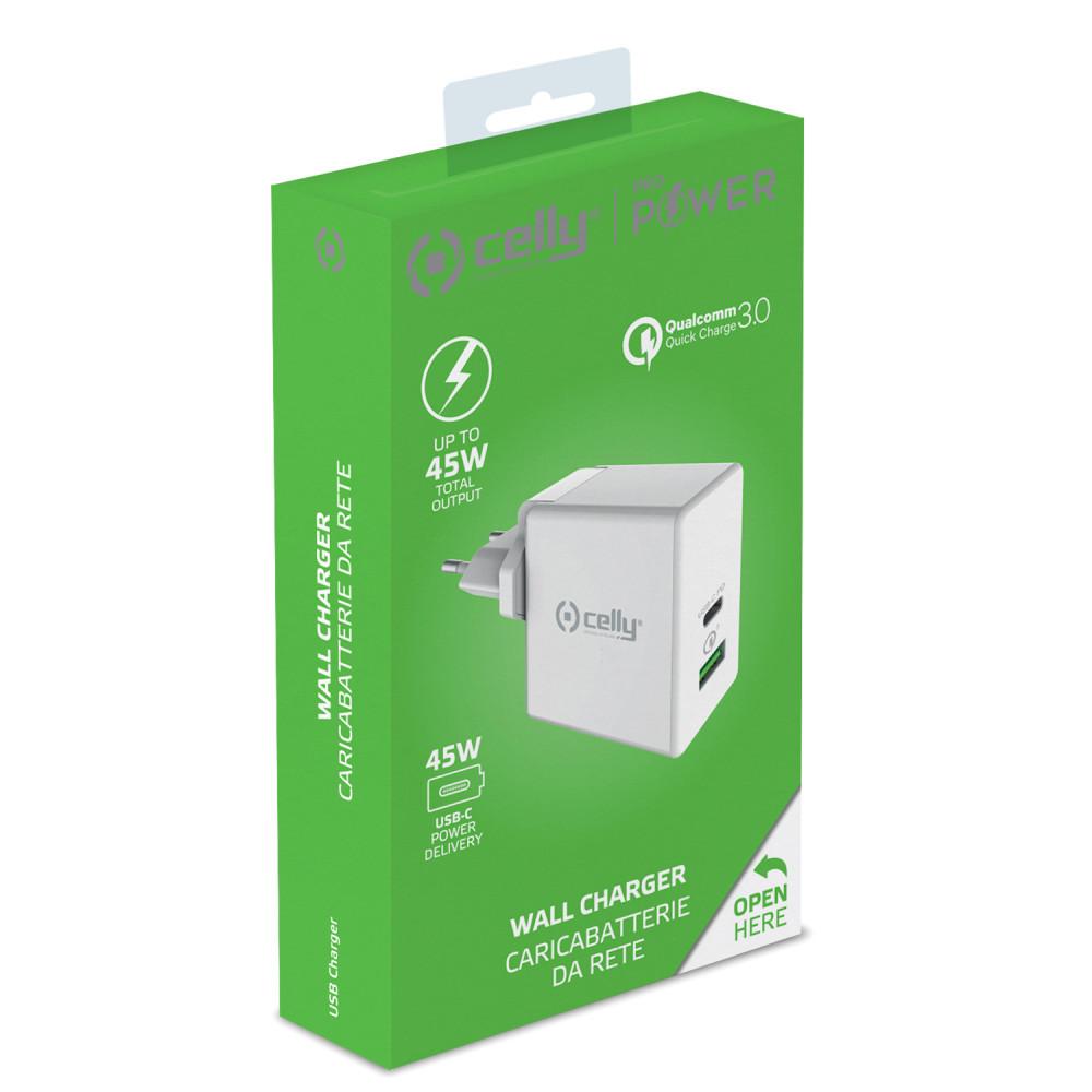 Celly USB laddare 4xUSB 4,8A