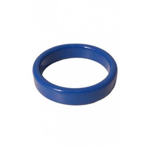 Metal cockring blue