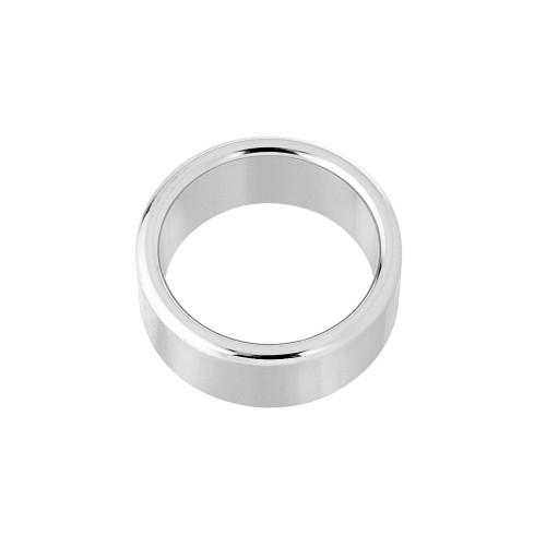 Metal Silver ring Large 4,5