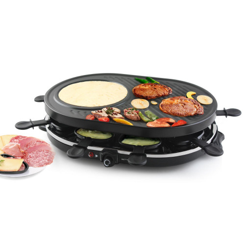 Emerio Raclette grill 8st Pannor