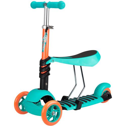 Nijdam 3-hjulig Sparkcykel Justerbar