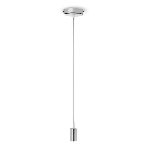 Smartwares Pendel med tygkabel E27 Silver