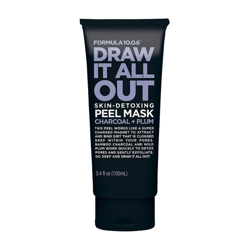 Formula 10.0.6 Draw It All Out Charcoal Peel Mask