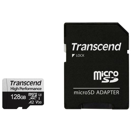 Transcend microSDXC 128GB U3 (R100/W85)