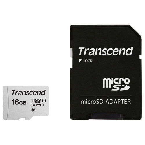Transcend microSDHC  16GB U1 (R95/W45)