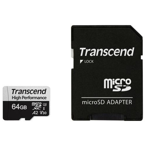 Transcend microSDXC  64GB U3 (R100/W85)