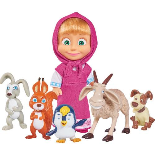 Masha och Björnen Masha and her Animal Friends