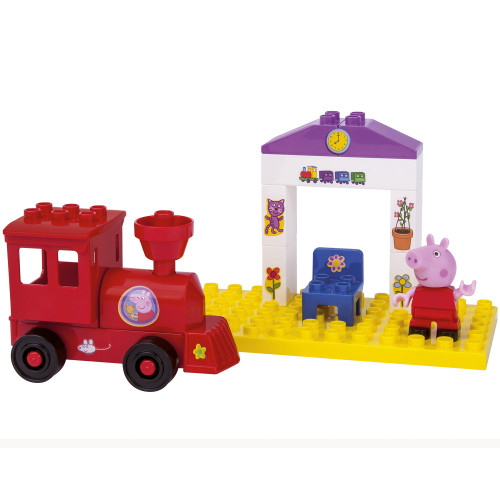 Greta Gris PlayBIG Bloxx Peppa Train Stop