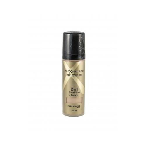 Max Factor Ageless Elixir Foundation SPF15  35 Pearl Beige