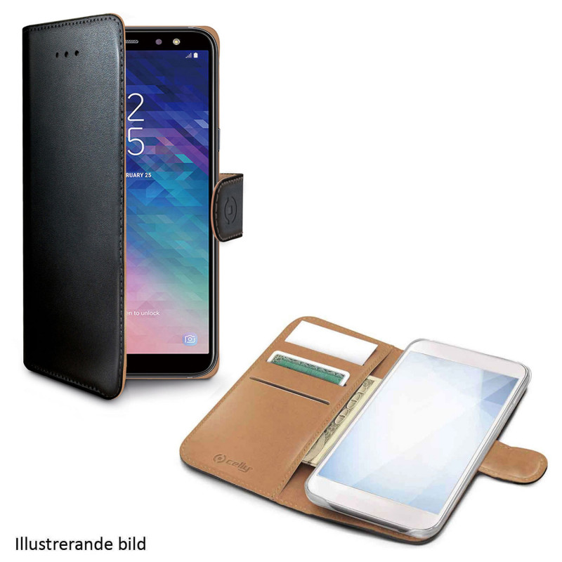 Celly Wallet Case Galaxy A10 Sv/be