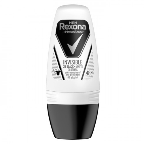 Rexona Men Invisible On Black & White Deodorant