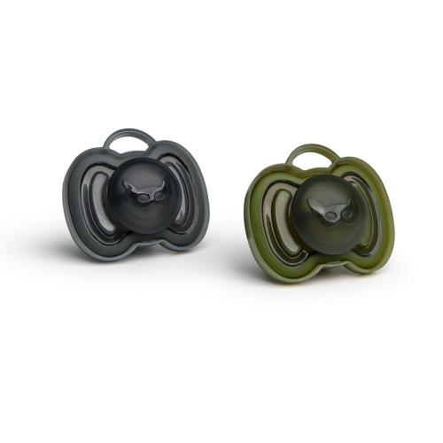 Herobility HeroPacifier Svart & Grön +0 mån