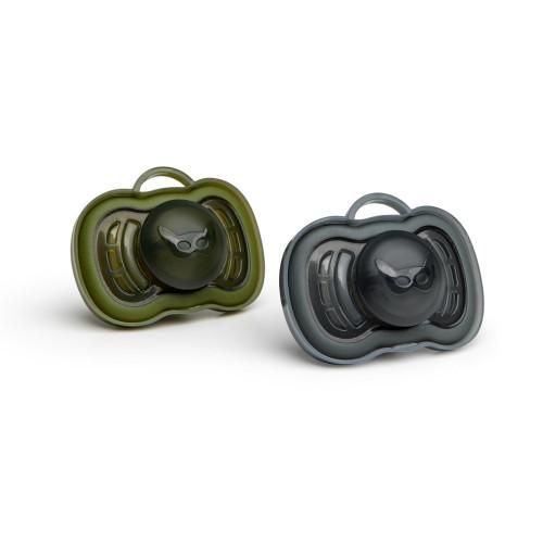 Herobility HeroPacifier Svart & Grön +6 mån