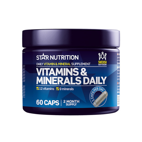 Star Nutrition Vitamins & Minerals Daily 60 caps