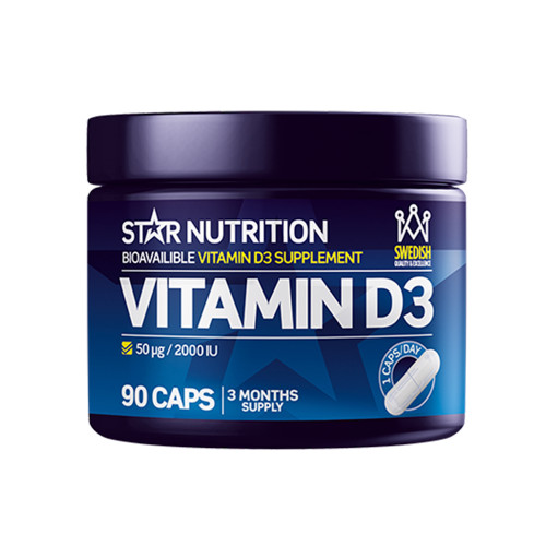 Star Nutrition Vitamin D3 90 caps