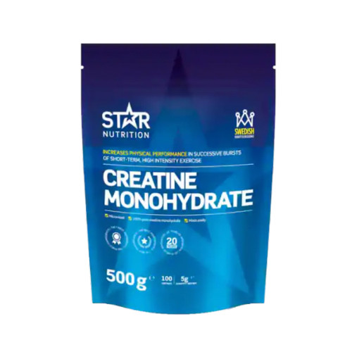 Star Nutrition Creatine Monohydrate, 500 g