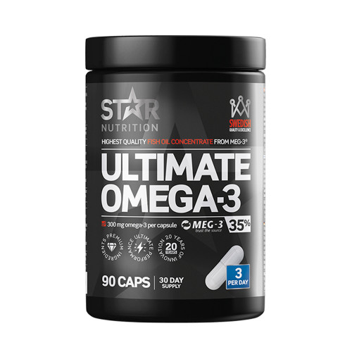 Star Nutrition Ultimate Omega-3, 90 caps, 35% 1000mg