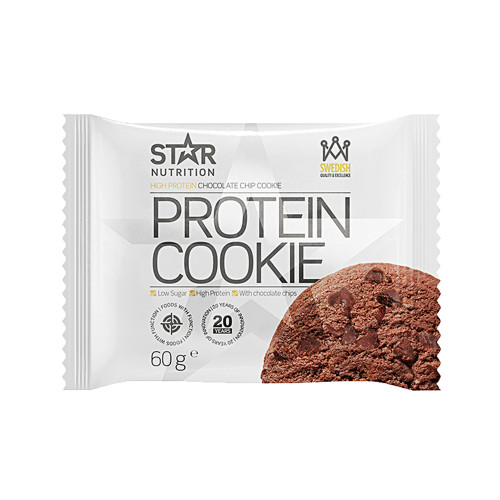 Star Nutrition Protein Cookie, 60g, Double Chocolate Chip