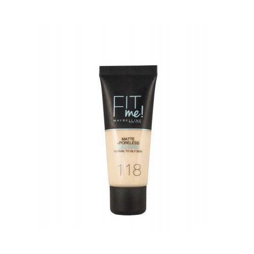 Maybelline  Fit Me Matte + Poreless Foundation 30ml - 118 Light Beige