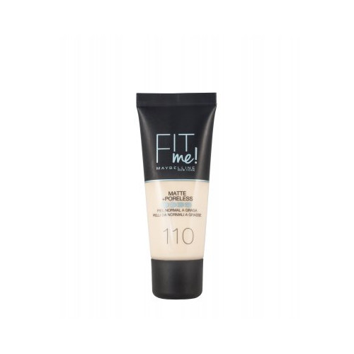 Maybelline  Fit Me Matte + Poreless Foundation 30ml - 110 Porcelaine