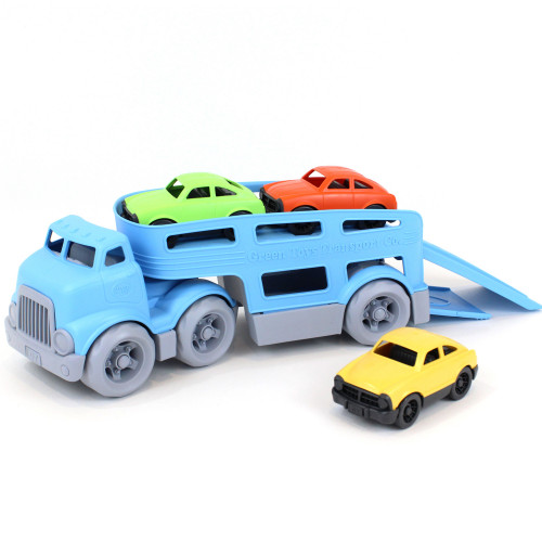 Green Toys Biltransport med bilar